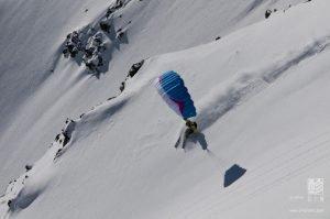 speedriding en la estación de esquí de Cerler